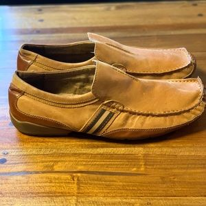 Steve Madden men's leather loafers size 10